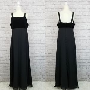 Night Way Collections black velvet evening gown